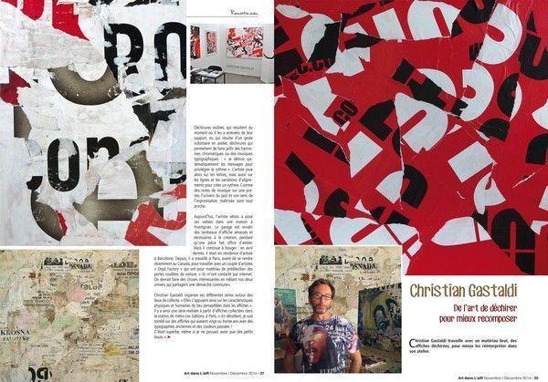 Article dans la revue Art dans L'aiR