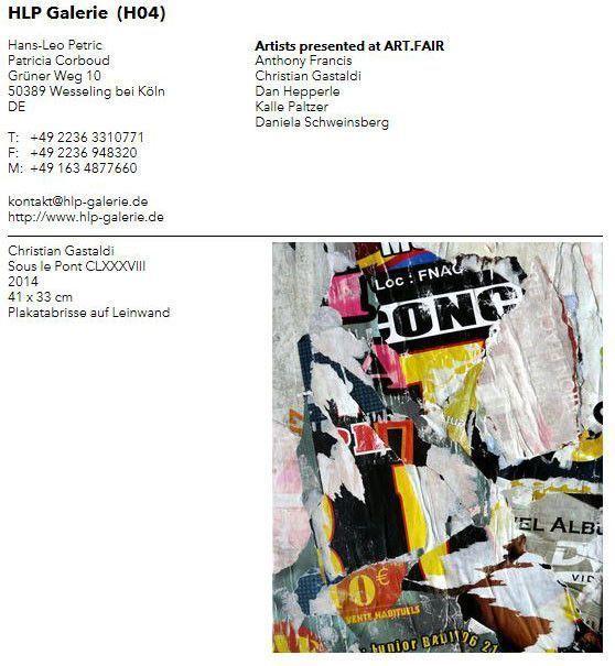 Catalogue Art Fair Cologne