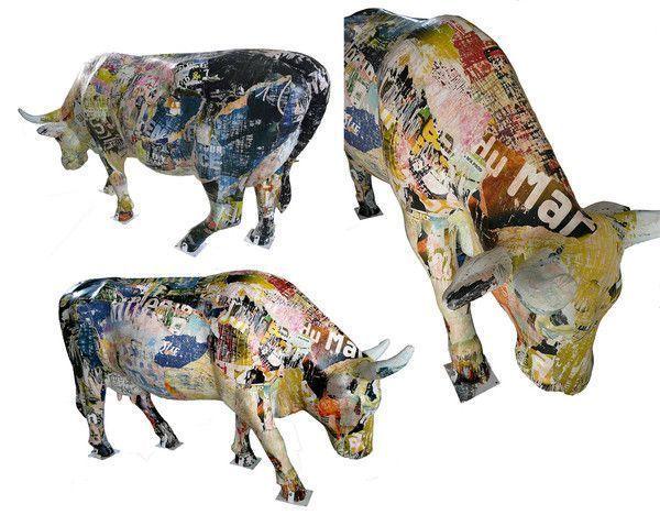 Cow Parade: vache terminée !
